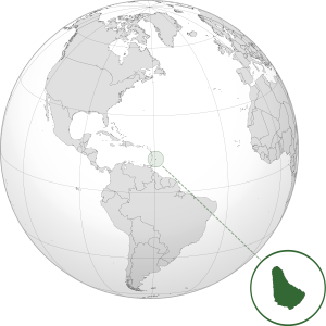 Barbados on World Map